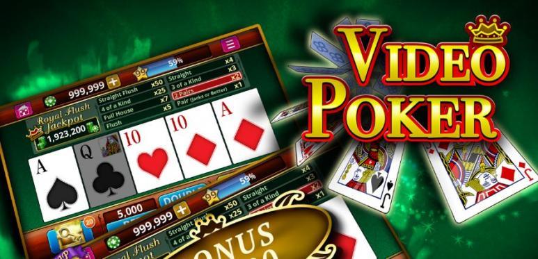 cartes et jeux de video poker